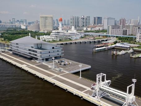 東京国際クルーズターミナルがオープンしました。