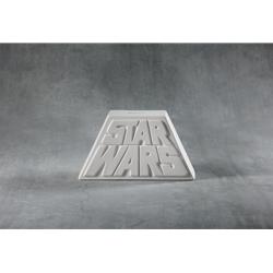 Star wars logo bank - 8 in.L x 2.5 in.W x 4.5 in.H