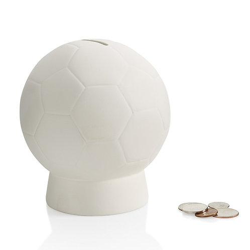 Soccer ball bank - 4.5W x 5.5H