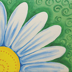 Daisy Canvas