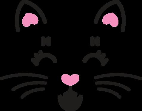 Cat Face Stencil (3)