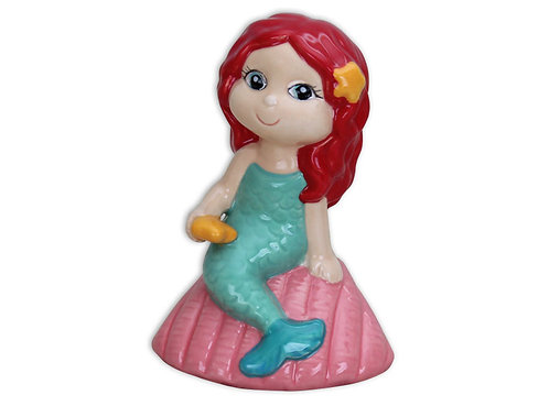 "Shelley Mermaid - 4 ½"" H x 3 ¼"" L x 2 ½"" W"