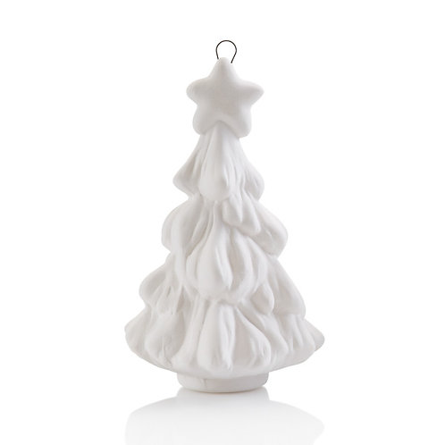 3D x-mas tree ornament - 4.25H x 1.75W