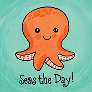 Seas the Day Canvas