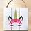 Thumbnail: Unicorn Design (Pillow/Tote/Board)
