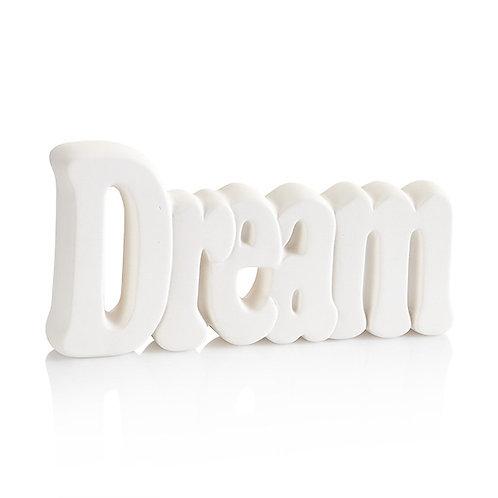 Dream word plaque - 8.5L x 4.25H