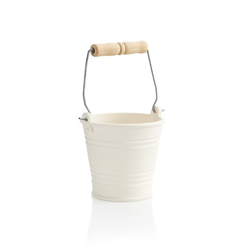 Small pail with handle - 4.5H x 4.25Dia