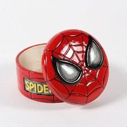 Spiderman box - 4 inches dia