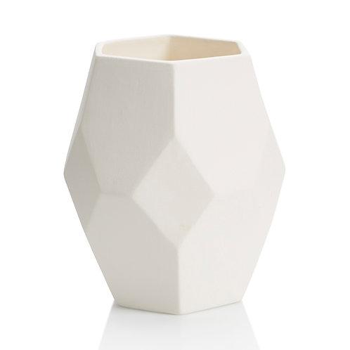 Prismware vase - 6.25W x 7H