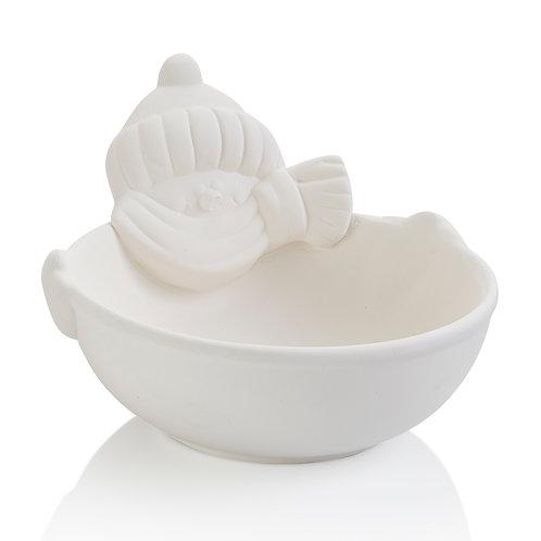 snowman bowl 6.5D x 4.25H