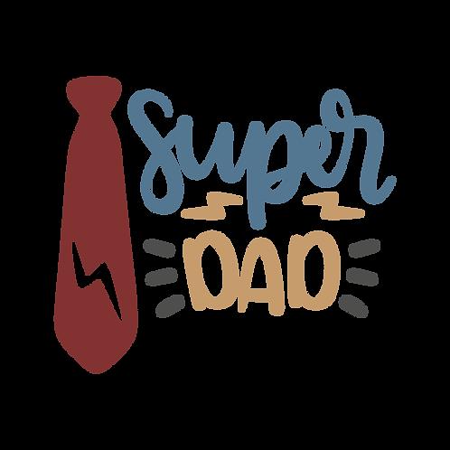 """Super Dad"" Stencil"