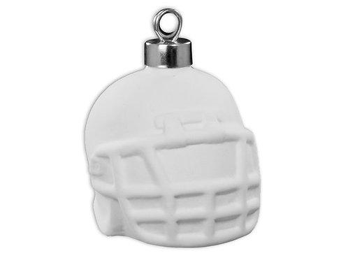"""Football helmet ornament - 2 ¾"""" L x 2 ¼"""" W x 2"""" H - ½"""" H"""