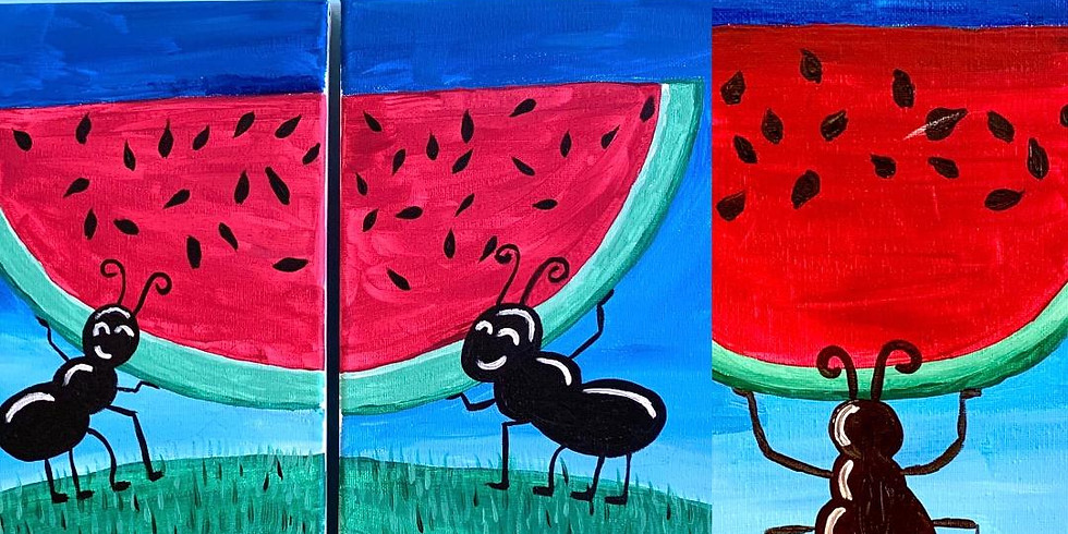 Life is sweet - canvas painting (1)