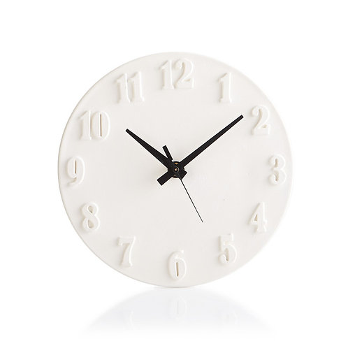 Wall clock with two sided hands - 9.5D