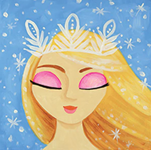 Ice Princess Canvas