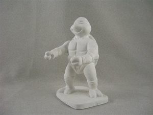 "Kung fu turtle - 2-3/4"" x 2-5/8"" x 3-15/16"""