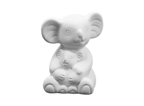 "Mama& Baby Koala - 4 ¾"" H x 3 ⅝"" W x 3 ⅛"" L"