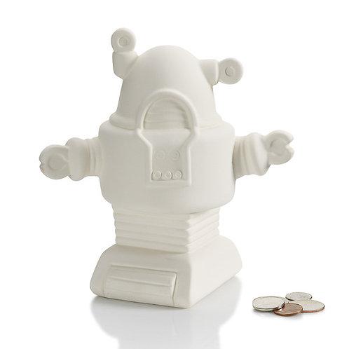 Robot bank - 6.5W x 7H