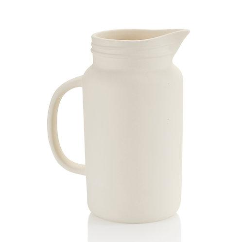 Mason jar pitcher - 8H x 4D