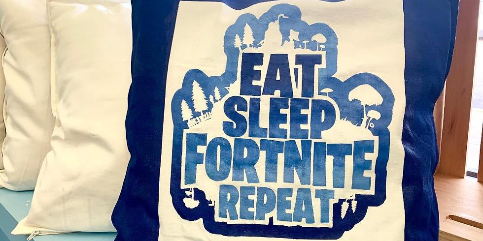 Eat, sleep fortnite repeat!