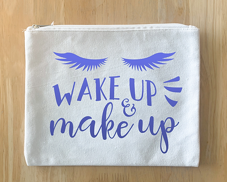 Wake up & make up Pouch