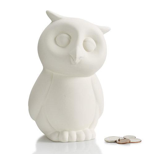 Owl bank - 6.5H x 4.25W