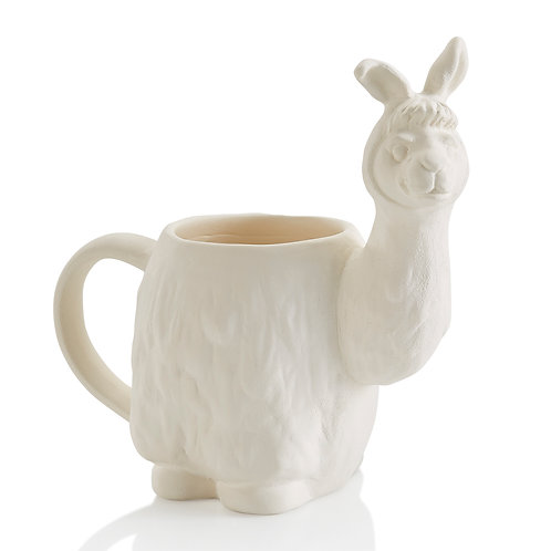 Llama mug- 6.5H x 6.5W