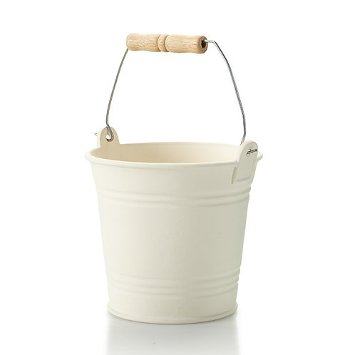 Pail with handle - 6.5H x 6.5Dia