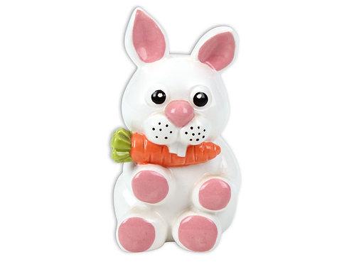 """Bucko bunny - 3½"""" L x 3"""" W x 5¾"""" H"""