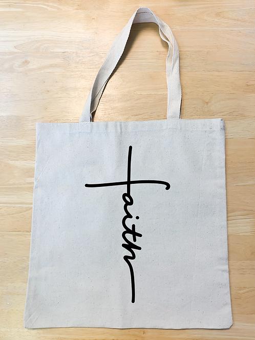 Faith Cross (Tote/t-shirt/pillow/board)