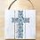 "Thumbnail: ""Love has a name"" Rose Cross (Board/Tote/T-shirt/Pillow)"