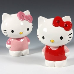 Hello kitty figurine - 6 in. H - UP