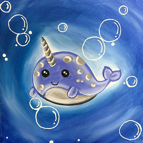 Narwhal Canvas