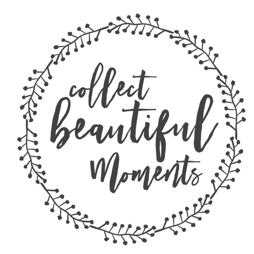 """""""Collect Beautiful Moments"""" Stencil"""