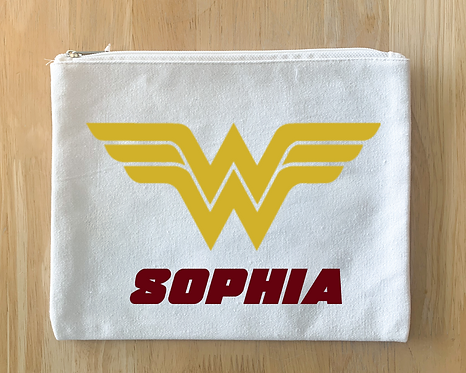 Wonder Woman Design (Pillow/Tote/Pouch/Board)