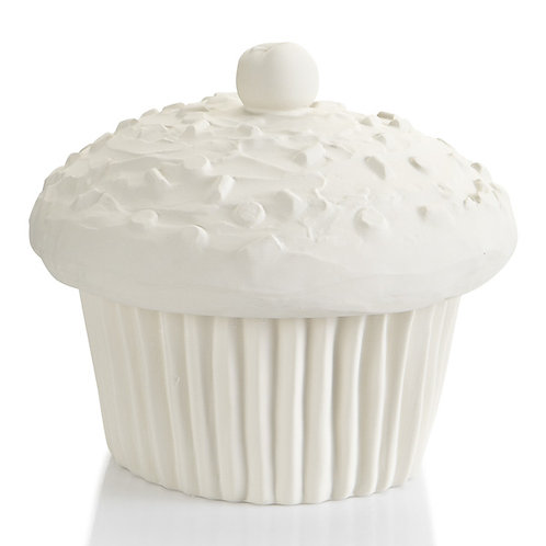 Cupcake canister - 8.5D x 7.5H