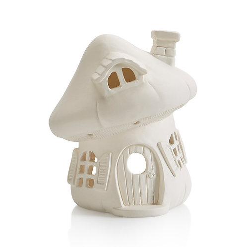 Mushroom house lantern - 5W x 6H