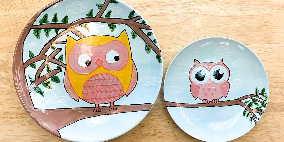 Big & Little Pottery Painting