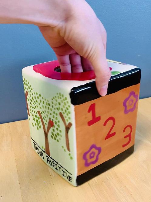 Teacher's Tissue Box Cover