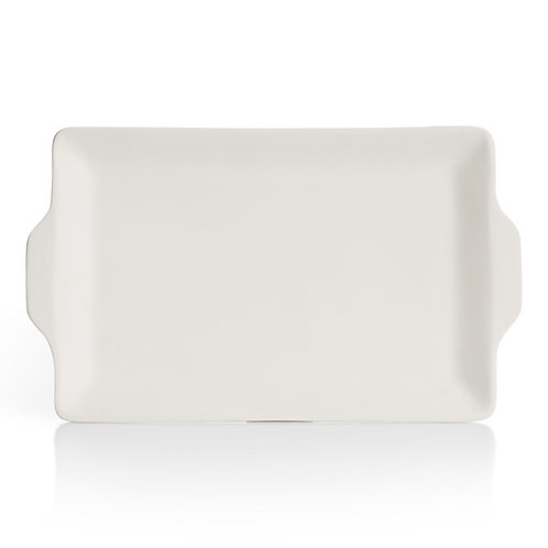Flat handled tray - 13.25L x 8W x 1H