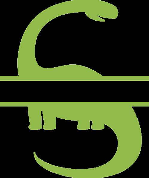 Monogram Dino Stencil (3)