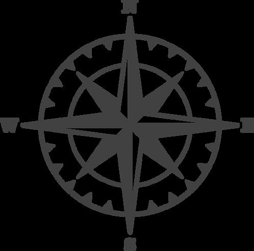 """""""Compass"""" Stencil"""