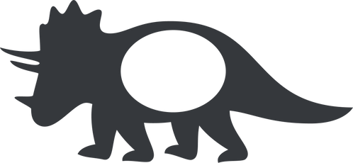 Monogram Dino Stencil (2)