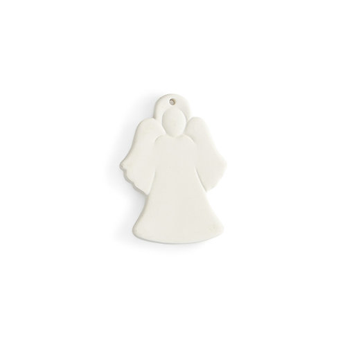 Flat angel ornament - 3.75L x 2.5W