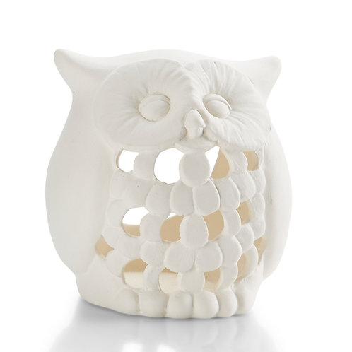 Owl lantern - small - 4W x 4H