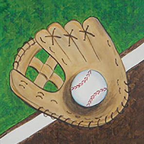 Baseball Canvas