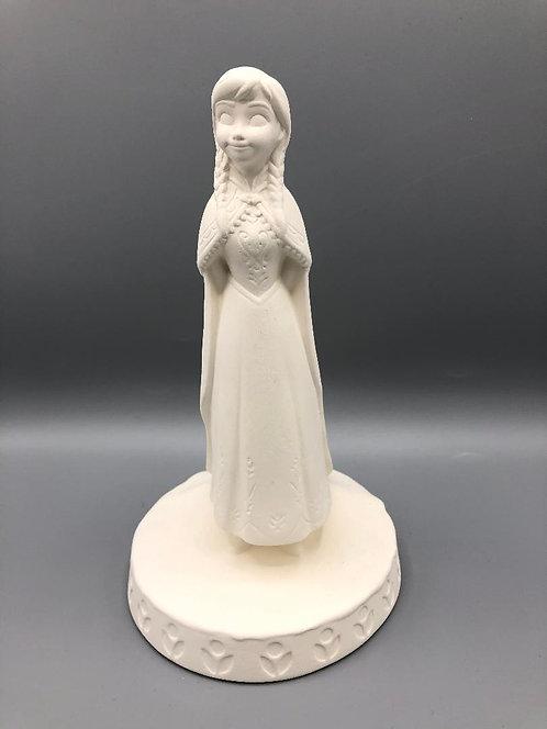 "Anna figurine - 8""H"