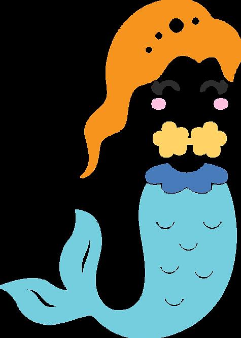 Mermaid Stencil (2)