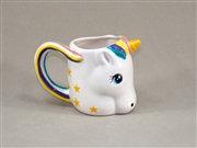 "Cute unicorn mug - 6-3/16"" x 3-1/2"" x 4-1/4"""