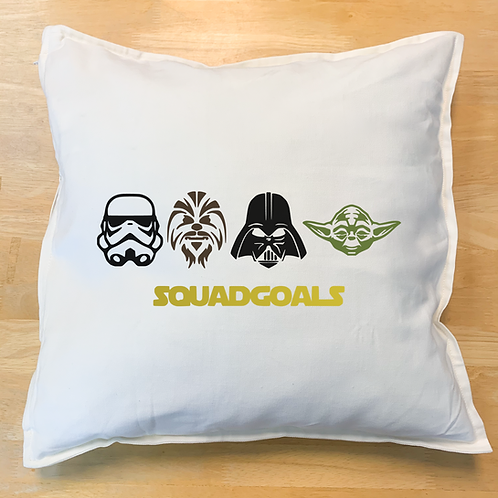 Starwars Squad Goals Pillow
